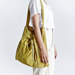 Korea ithinkso nylon twin bag TWIN BAG front and rear bags simple and lightweight storage fashion sense
