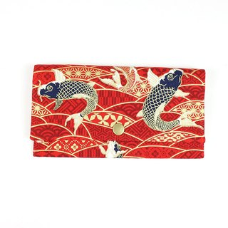 Passbook red envelopes of cash pouch - fish big splash