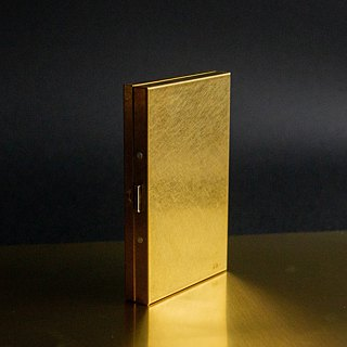 Japanese brass business card case thickness
