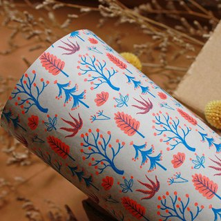Mysterious Tree Group - RISO Wrapping Paper (3 in)
