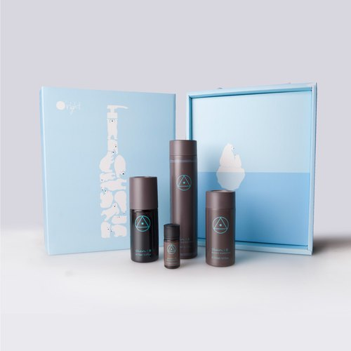 Limited polar bear gift box - Liu Lancui anti-aging conservation
