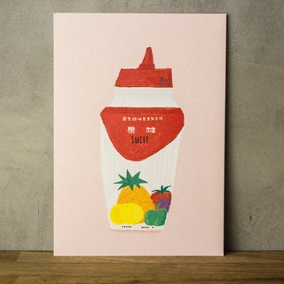 Sweet Sweet Fructose - Postcard