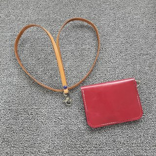 Leather hand to identify the card sets of leisure card sets of card holder card holder card storage