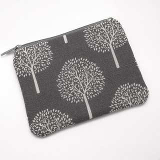 Zipper pouch / coin purse (padded) (ZS-207)