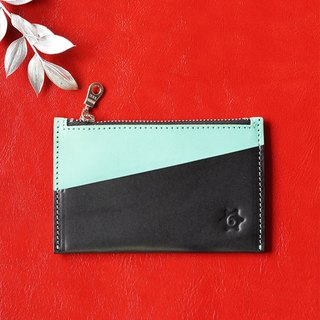 Color Multifunction Card Purse (blue water)