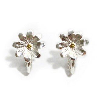 Cosmea Earring SV Cosmos earrings silver EA067SV