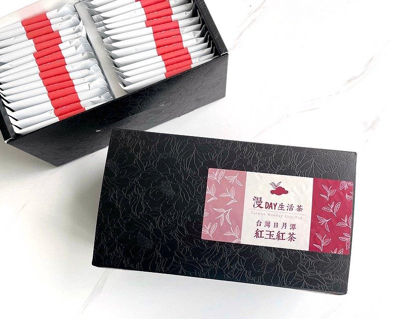 漫Day生活茶 紅玉紅茶 袋茶包禮盒(40入)