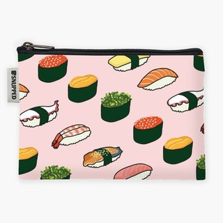 Snupped Zipper - Waterproof Storage Bag - sushi