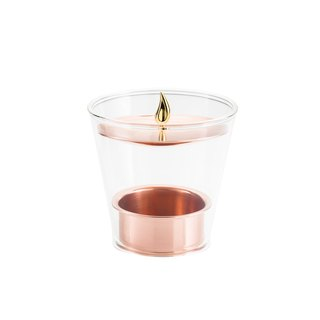 Kanari Twilight Candle Holder Rose Gold