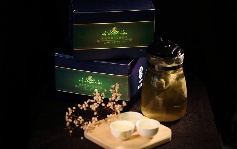 原葉茶包-玉露綠茶-20包入