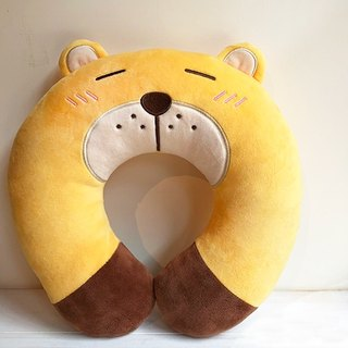 Helpless bear - micro touch happy neck pillow