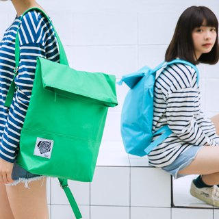 || Water repellent large backpack || green