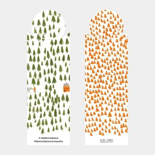 Bologna 50th Anniversary Illustration - One Million Thousands of Santa Claus - Bookmarks