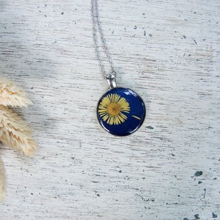 Real Flower Necklace - Falling Flowers