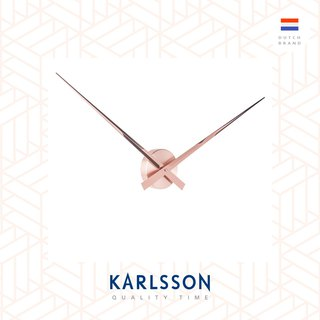 Karlsson Wall clock 90cm Little Big Time Copper