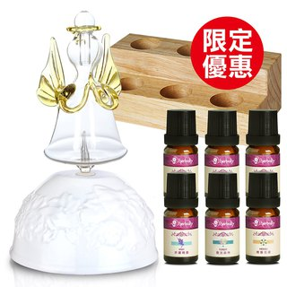 [Herbal Truth] SNOW Snow Angel Diffusion Instrument Fragrance Set (Combined Essential Oil Randomx6)