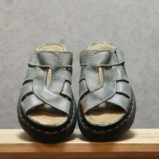 Tsubasa.Y Ancient House Grey 001 Martin Slippers, Dr.Martens England