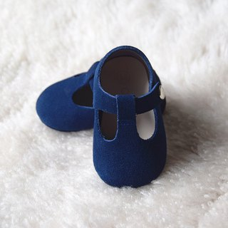 Navy Blue Baby Girl Shoes, Baby Moccasins, Baby Booties, Infant Crib Shoes