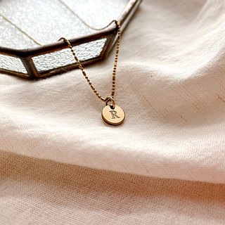 Happiness-brass necklace