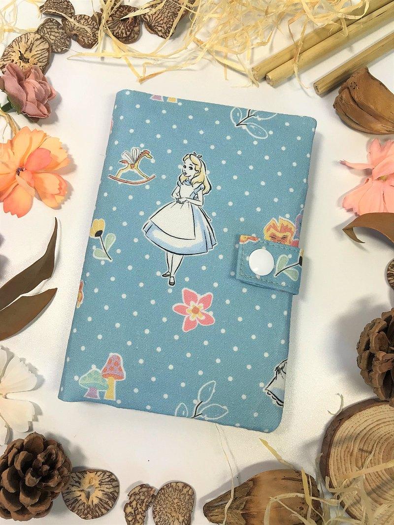 Fantasy【韓國布愛麗絲】護照套/夾【水藍色】