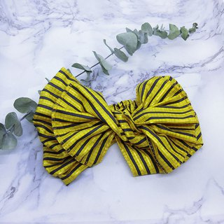 [Art shell products] giant butterfly hair band (striped section) - the entire detachable!