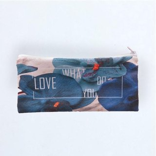 ICARUS Icarus original trend design multi-function zipper bag pencil bag LOVE WHAT U DO