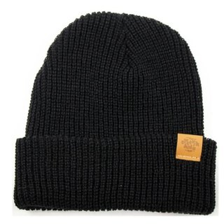 Literary Youth Warm Hooded Hat - Pensive Black