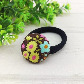 Little garden. Cloth buckle hair bundle / elastic hair ring / elastic hair ring (suitable for ponytail, princess head, bun head, adults and young girls are applicable)