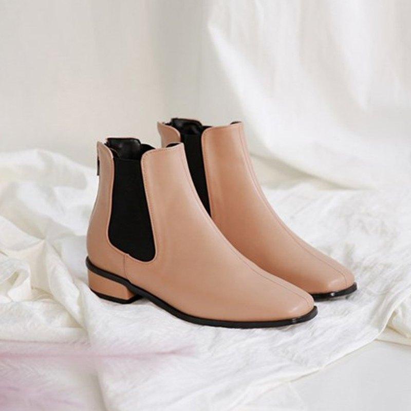 PRE-ORDER 韓國人手製 MACMOC Kalli (Beige) 短靴