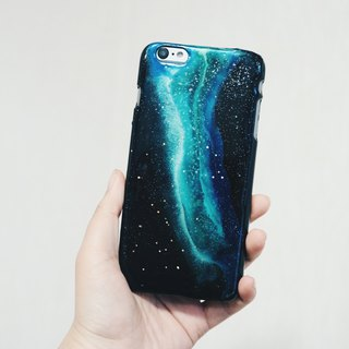 Hello Universe! Series ll Aurora ll hand-painted oil painting phone case