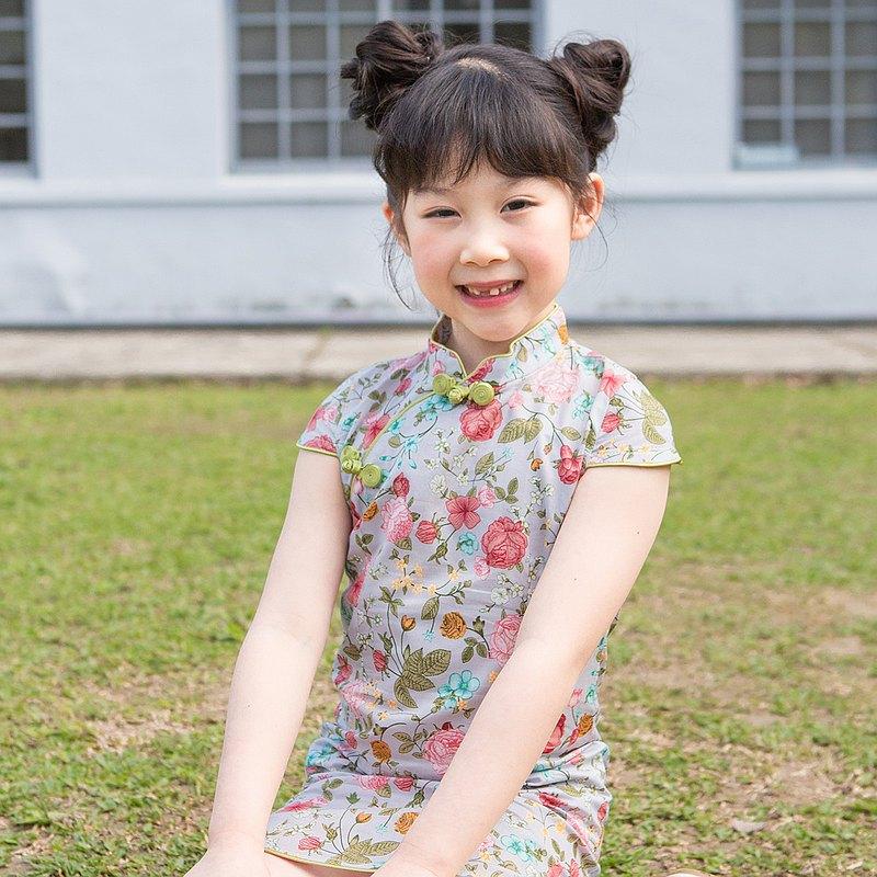 兒童旗袍 古風 四季款 蜻蜓點水