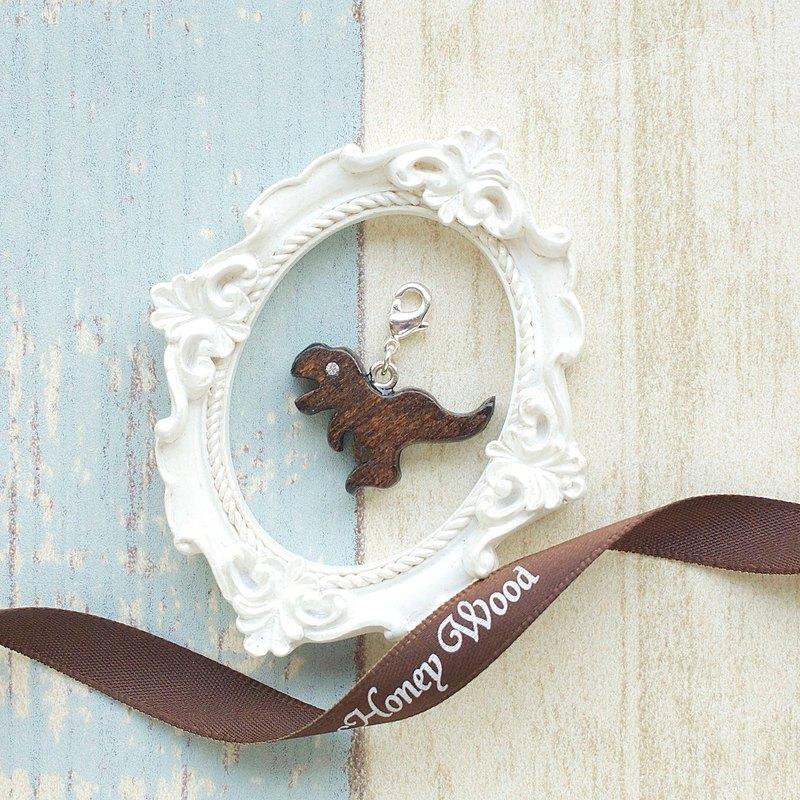手工木製吊飾  速龍。吊飾 禮物訂製