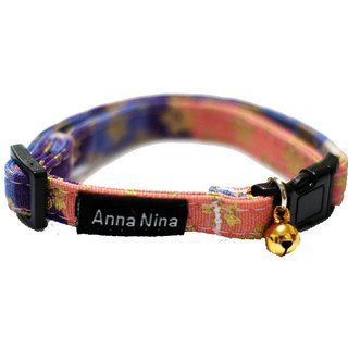 [AnnaNina] pet cat dog collar cherry blossom three original pigment collar XS~M