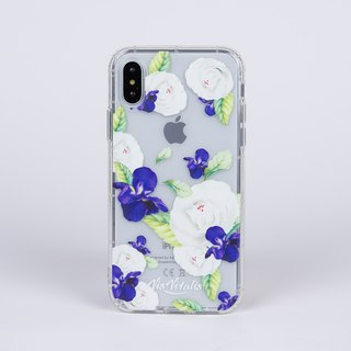 [Flower series ideal の lovers] transparent air soft shell / mobile phone shell