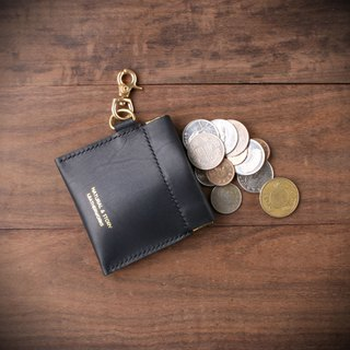[NS handmade leather goods] leather shrapnel gold bag / coin purse / gift (free printing)