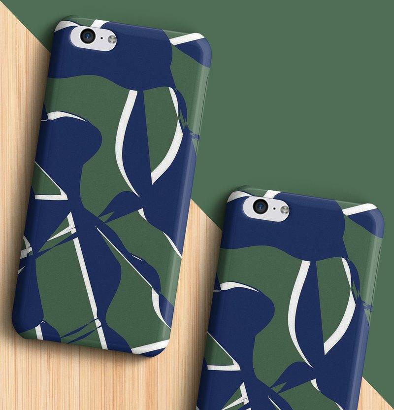 淺綠色/綠色手機殼