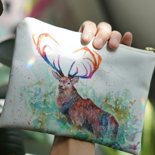 Multifunction Small Items Bag Forest Deer