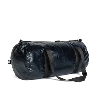 LOQI double-sided travel bag - metal black WEMMBL