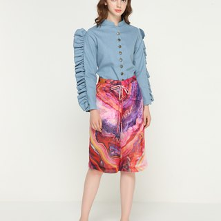 ADELE I Feel Good Chiffon Culottes