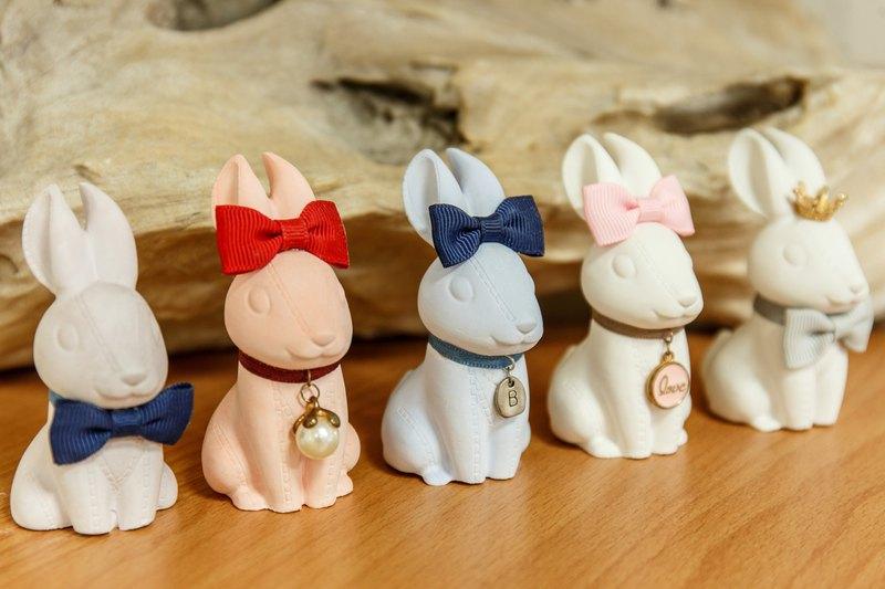兔兔擴香石 多種款式訂製 情人節禮物 生日禮 新婚賀禮【客製化】