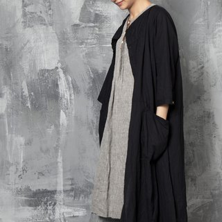 And - Intimate Partner - Cardigan Double Big Pocket Dress