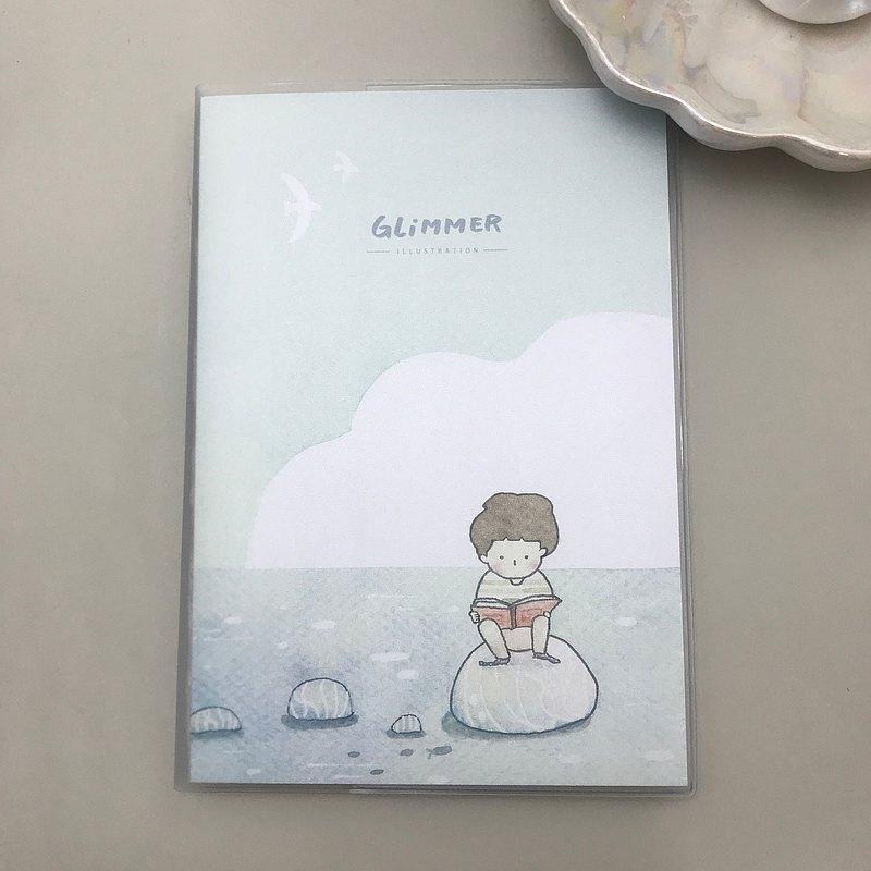 小男孩與小雪 - 格紋筆記本