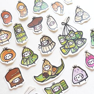 Dragon Boat Festival illustration sticker
