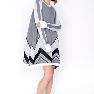 ZIZTAR Dried Up Desert Sweater Dress