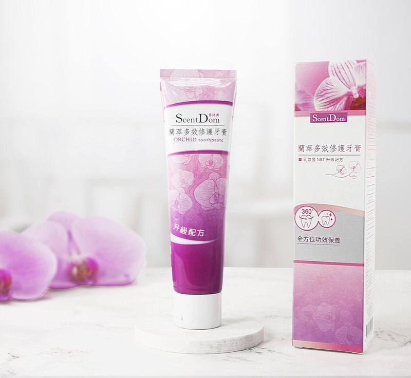 Lancaster multi-effect repair toothpaste _Orchid Toothpaste