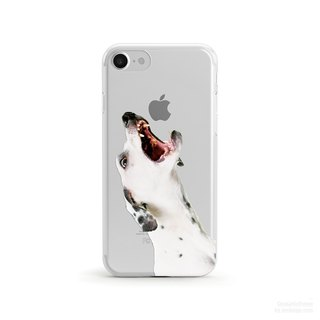 The Apple is Mine, Dalmatian- iPhone X, iPhone 8, Samsung, soft phone case