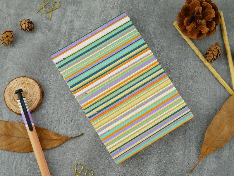 寧靜線-A6手工筆記本/手帳/日記本/相簿/日誌/禮物