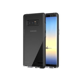 Tech21 UK Super Impact Evo Check Samsung Note 8 Collision Soft Prototype - Through Black (5055517382175)