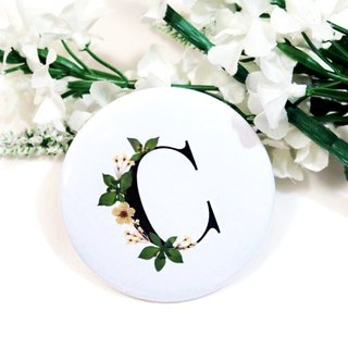 Reverie Pressed Flower Mirror - C