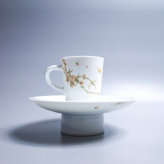 Since Slow Hall Glaze Color Coffee Cup Set - Peach Blossom